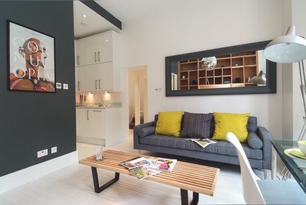 A Small Flat With Lots Of Character In London  Interiors Living Fascinating Interior Design Living Room Small Flat Design Decoration