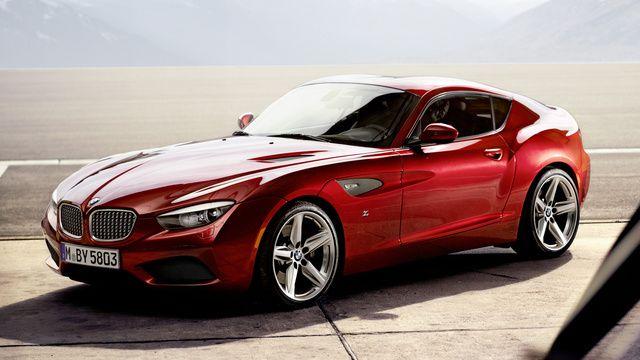 BMW Unveils Handbuilt Zagato Coupé