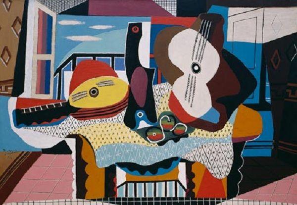 Pablo Picasso, Gitara i mandolina,