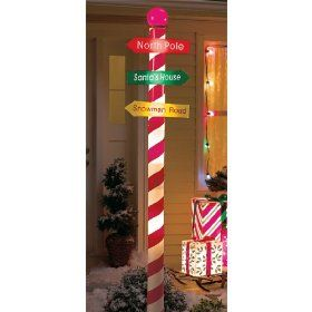 Lighted Candy Cane Decorations Seven 7 Foot Lighted Christmas Outdoor Yard Decoration Lights