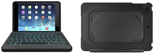 Zagg Rugged Book Case Durable Hinged With Detachable Backlit Keyboard 139 95 Best Ipad