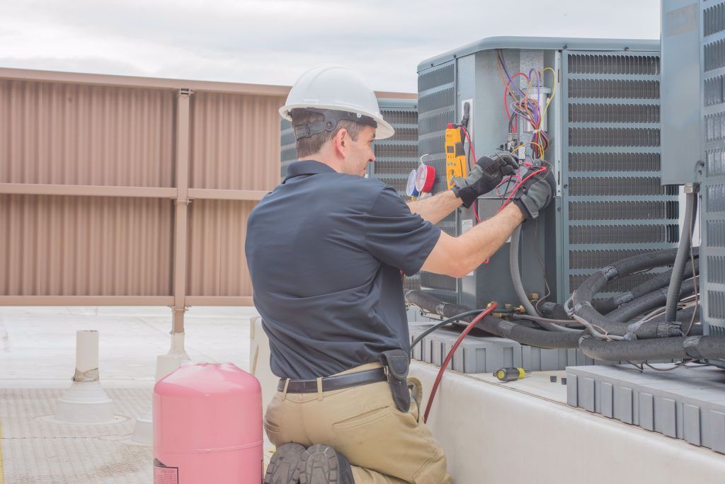 Ac Maintenance Sharjah In 2020 Air Conditioning Installation Hvac Contractor