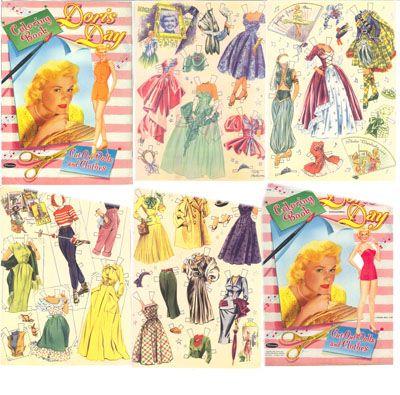 Vintage paper dolls for sale