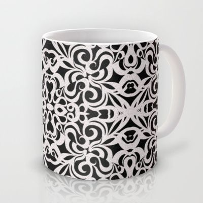 Mug Baroque Style Inspiration G91 #mug #society6 #floral #baroque #abstract http://society6.com/Medusa81/Baroque-Style-Inspiration-G91_Mug#27=199