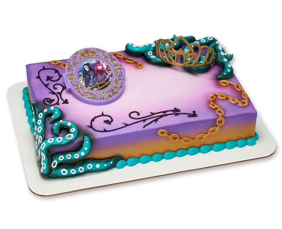 Descendants 2 Rock This Style Decoset 174 Cake Sku 21666c