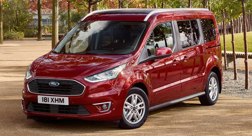 2018 Ford Tourneo Connect And Courier Gain New Engines And Modern Tech Carscoops