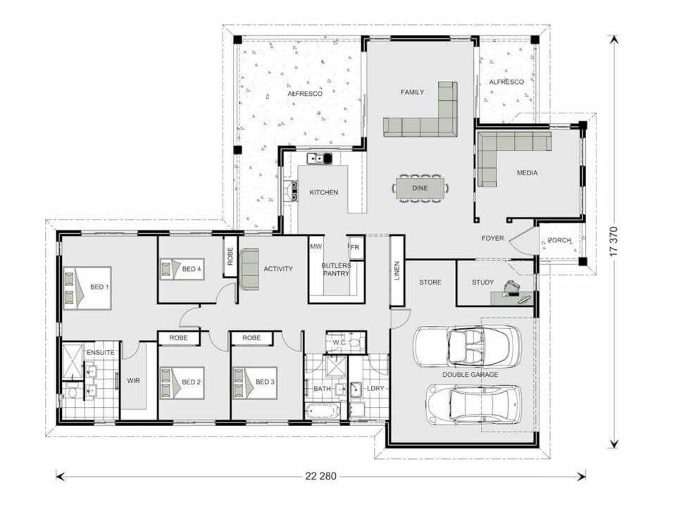 Gj gardener parkview 290 maison Pinterest Plans de maison - plan maison etage m