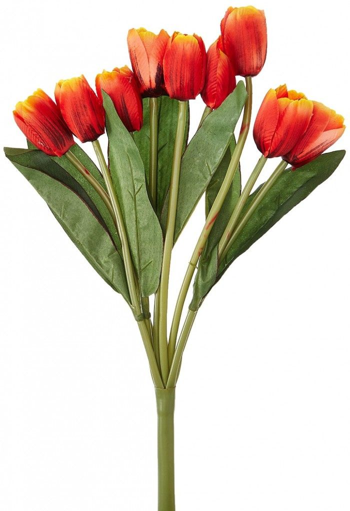 Artificial Tulip Bunch Multicolour Artificial Flowers Flowers Online Flower Decorations
