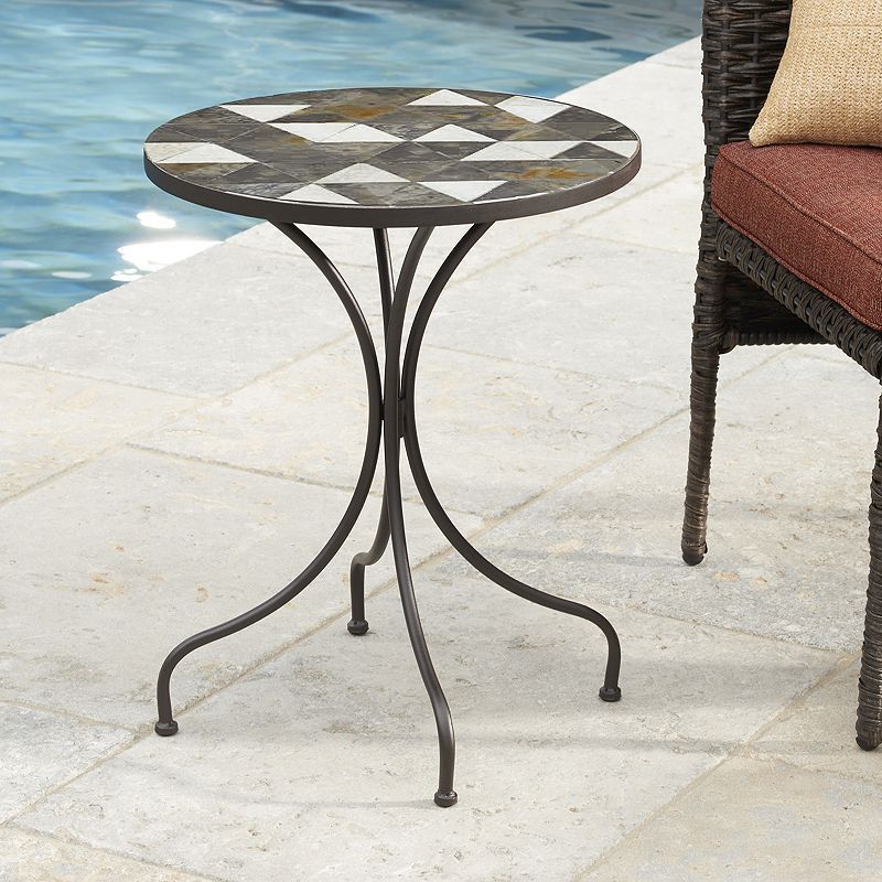 Outdoor Sonoma Goods For Lifeâ Triangle Slate Table Multicolor