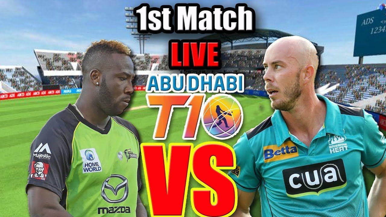 LIVE Maratha Arabians vs Northern Warriors, 1st Match live