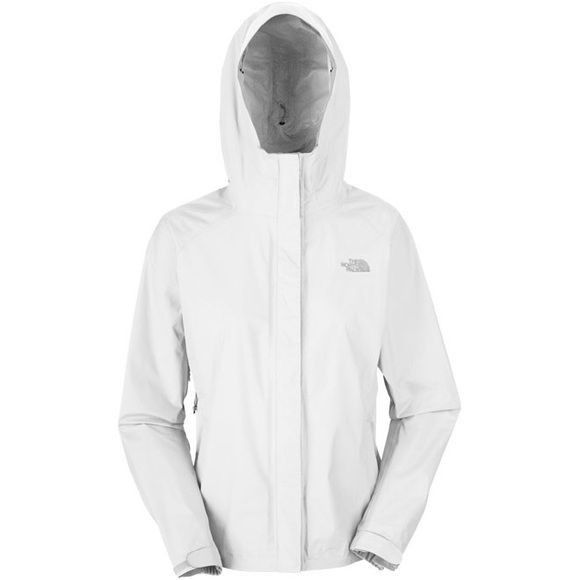 North face white jacket Very comfortable jacket easy wash and dry North Face Jackets & Coats Utility Jackets