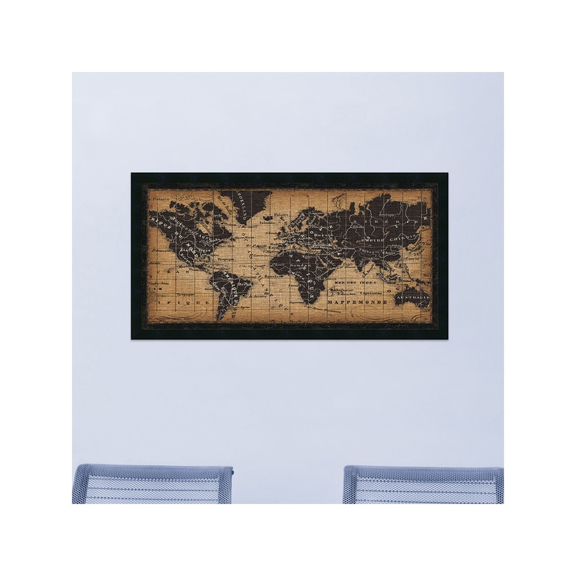 Amanti art traditional old world map framed wall art multicolor amanti art traditional old world map framed wall art multicolor gumiabroncs Gallery