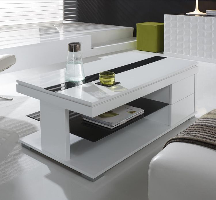 Mesa de centro con tablero elevable 2 mesa de centro con - Mesas de centro minimalistas ...
