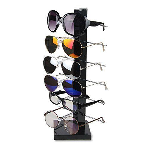 $17 Fashion Design 6 Pair Sunglasses Eye Glasses Frame Rack E ...