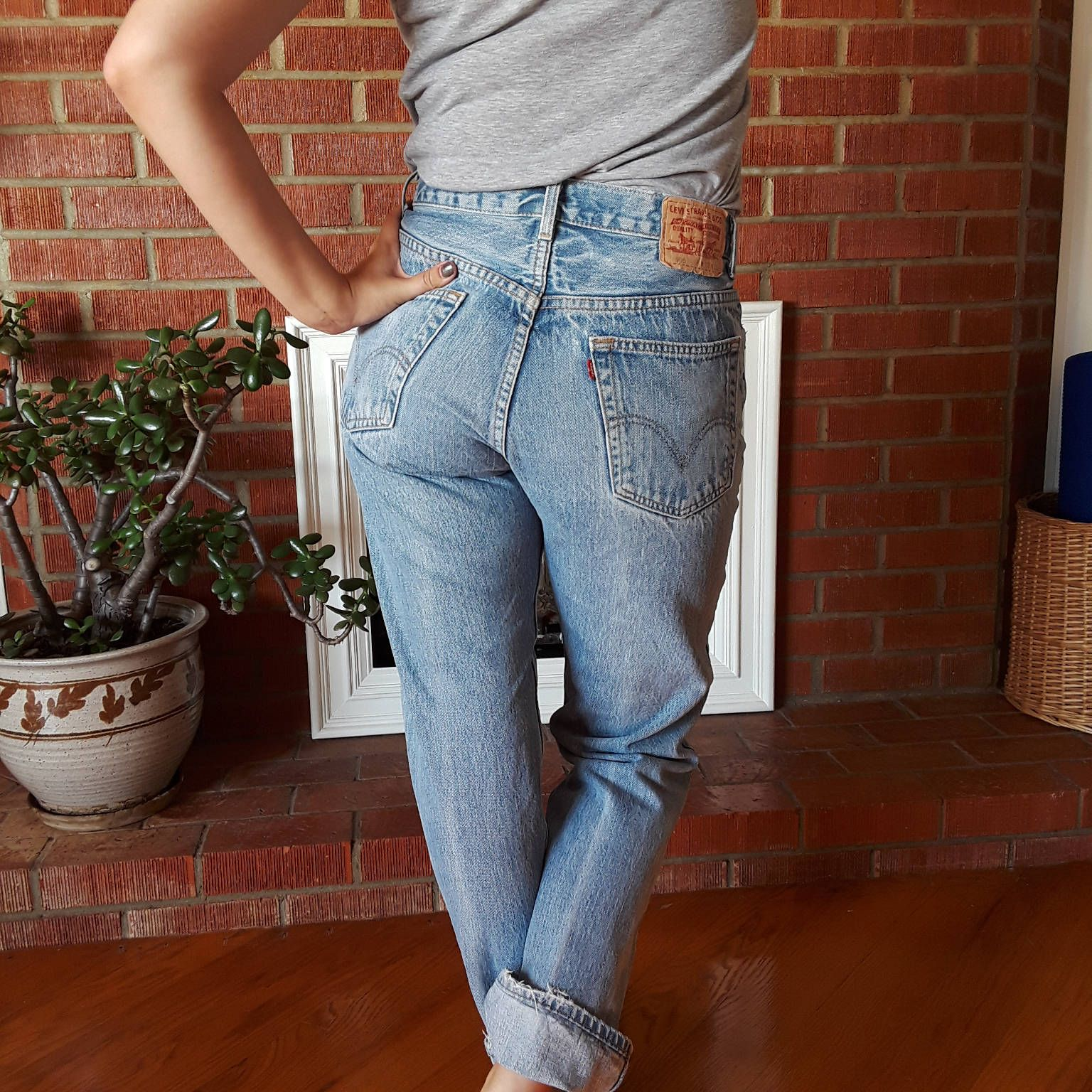 7d6dee48dc9 vintage Levi's 505 jeans high waisted! Blue jeans! Womens vintage denim!