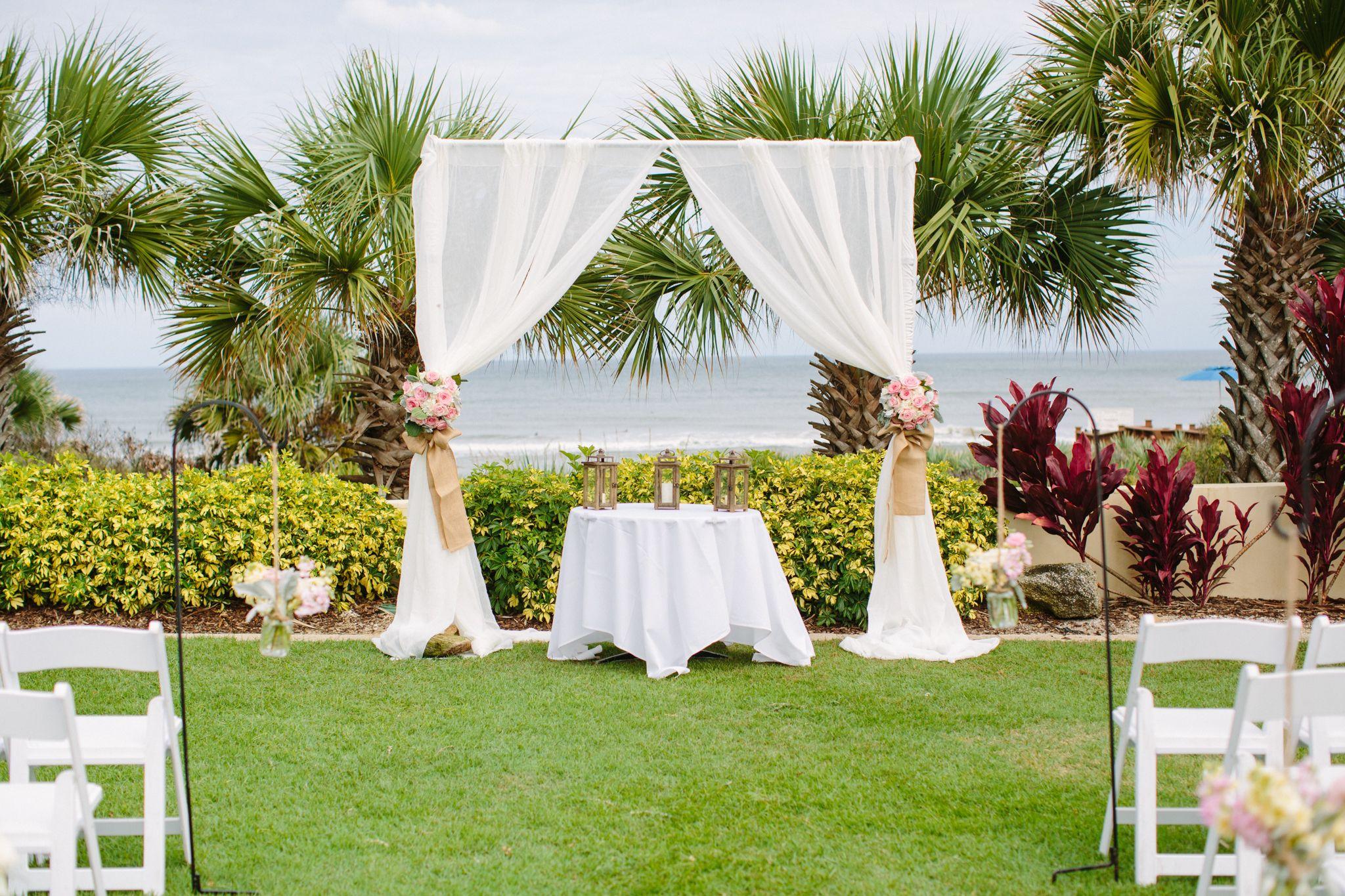november wedding on lodge event lawn at hammock beach resort palm