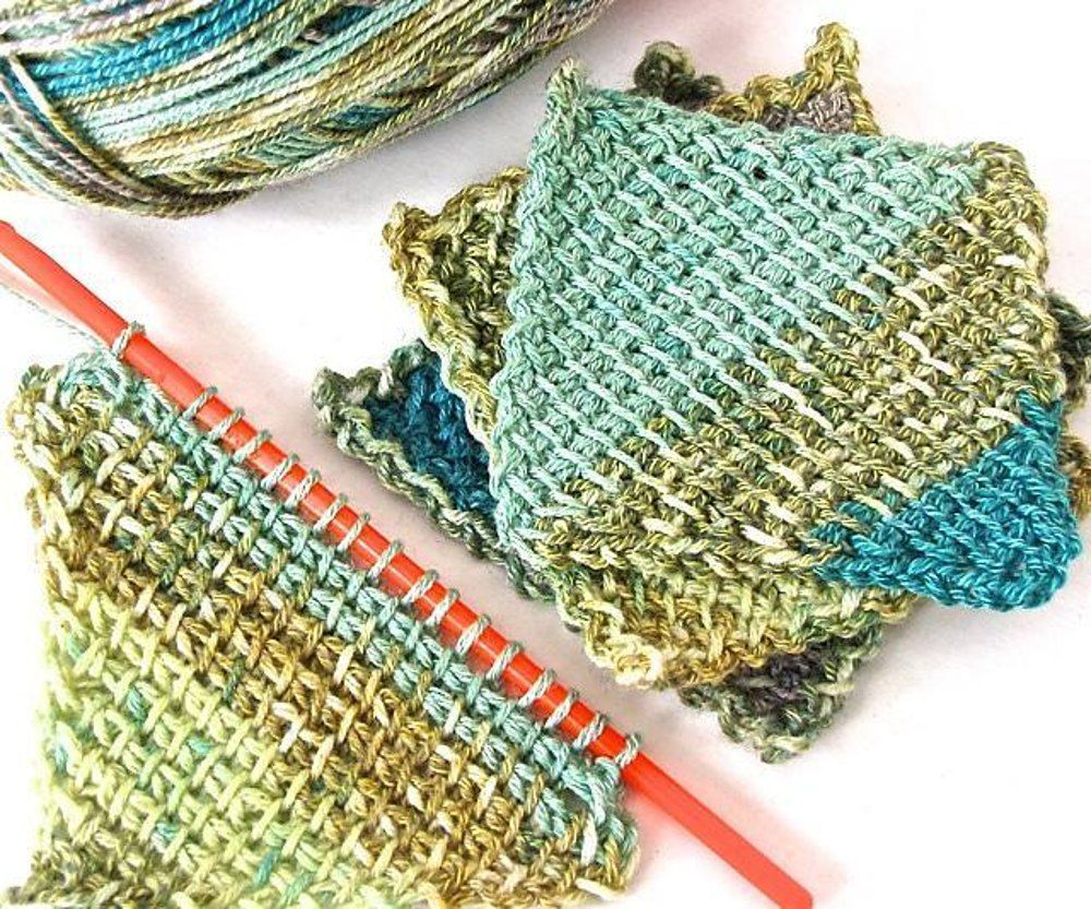 Symmetrical Tunisian Diamond 101 Crochet pattern by Vashti Braha | Knitting Patterns | LoveKnitting #tunisiancrochet