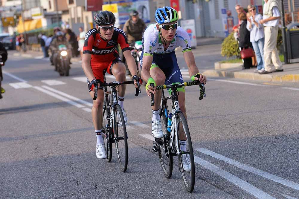 Gallery: 2014 #IlLombardia, The Race of the Falling Leaves - #PieterWeening & #BenHermans were off the front in the final kilometers. Photo: Tim De Waele | TDWsport.com