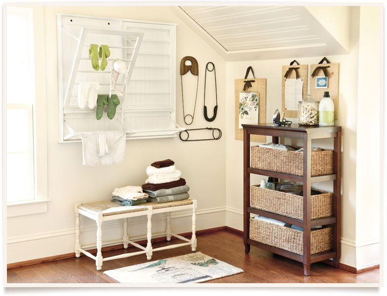 Like The Drying Rack Vintage Laundry Room Decor Laundry Room Inspiration Laundry Room Decor