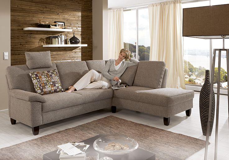 Sofa Garnitur Menorca für entspannende Zeiten Wohnzimmer Pinterest - Wohnzimmer In Weis Und Braun