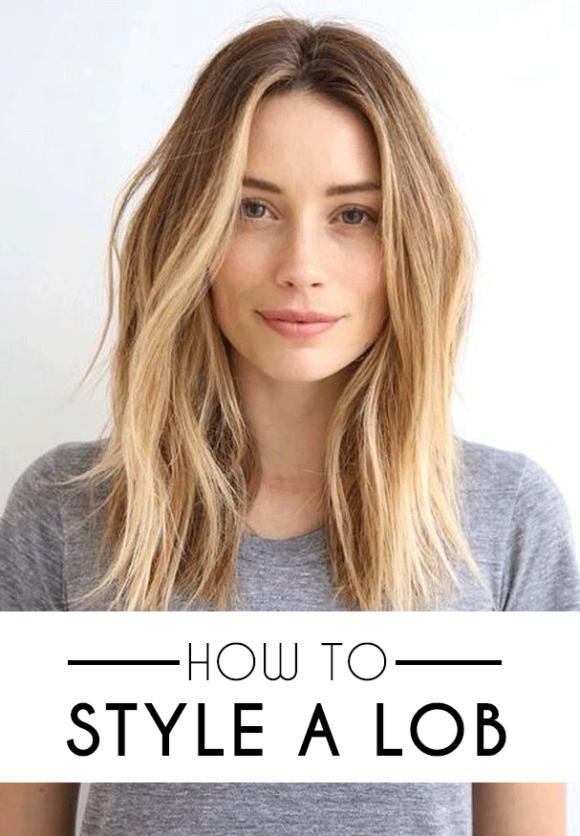How to Style a Lob (Long Bob) – SOCIETY19