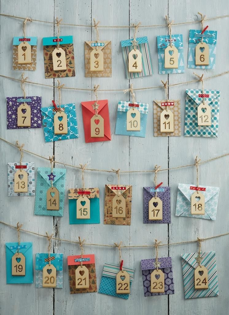 The 25 best make an advent calendar ideas on pinterest - Pinterest advent ...