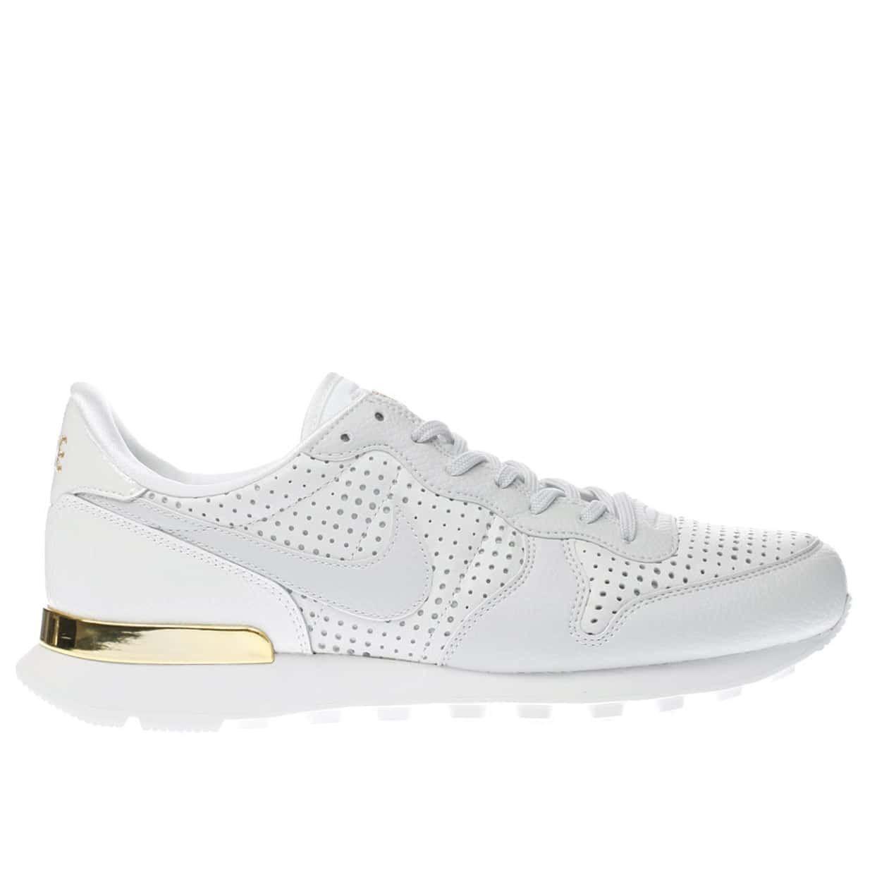 Womens Nike Beautiful X Internationalist Trainers White & Gold