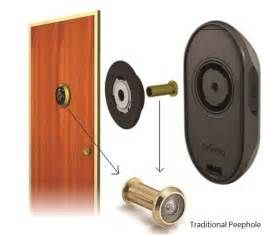 search hidden front door security camera views