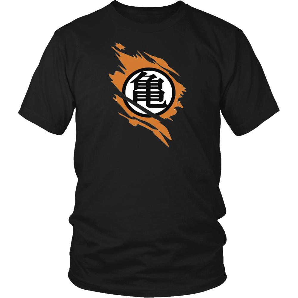Goku Ripped Kame Logo Shirt Ultra Instinct Db Super Shirt Dragonball Shirt Fashion Style Outfit Mensfashion Goku Ve Shirts Logo Shirts Balls Shirt