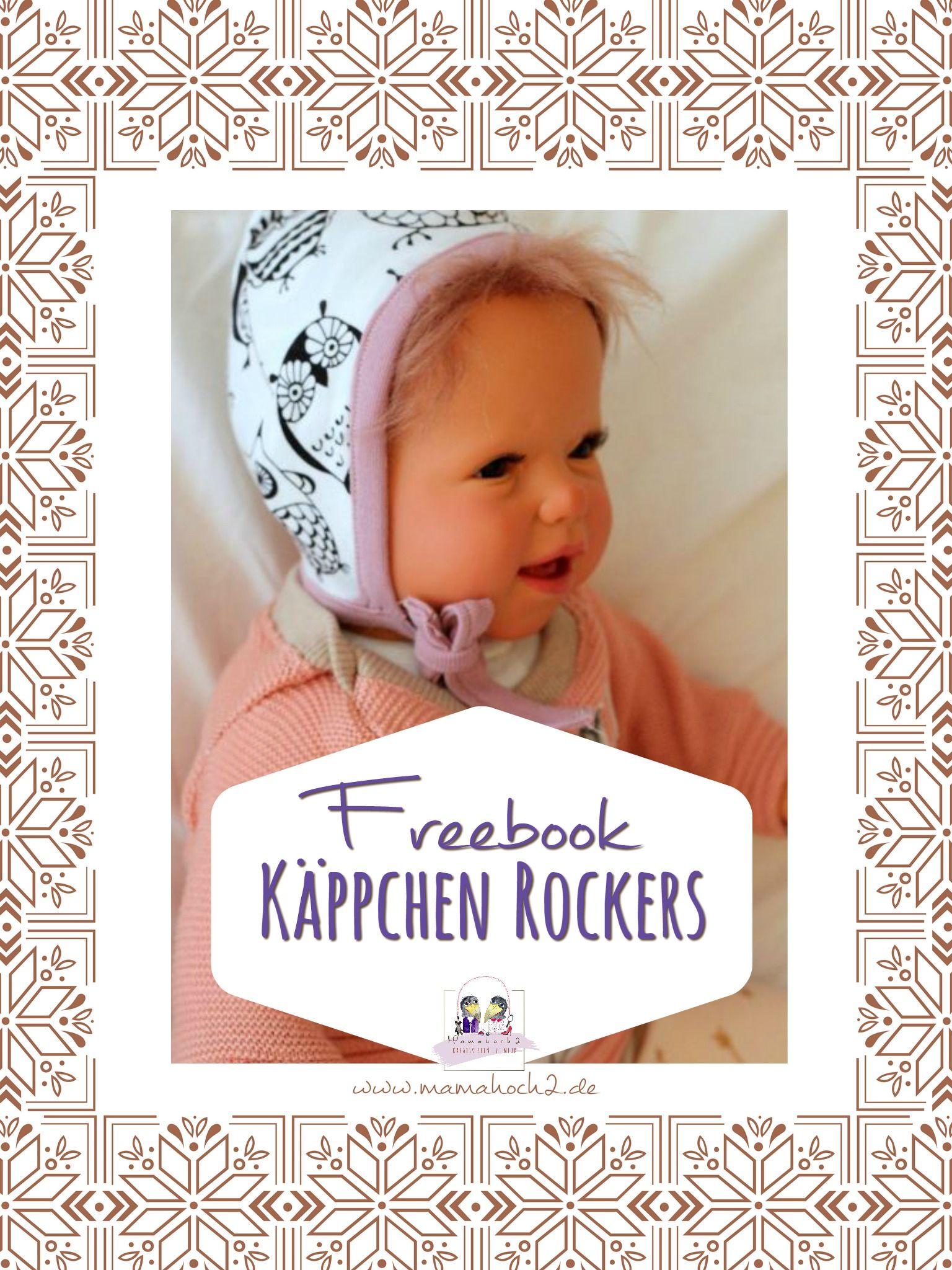 Freebook Käppchen Rockers   Diy baby