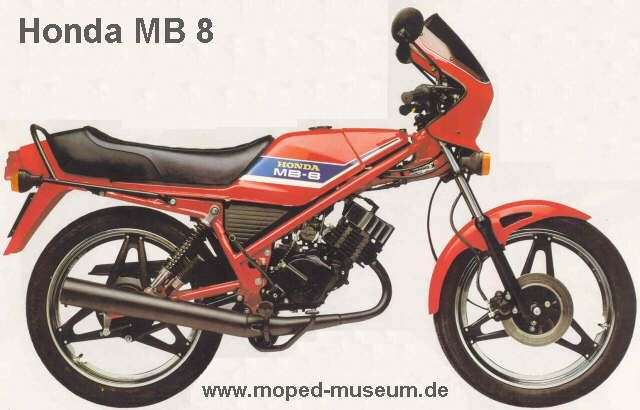 honda mb 8 1980 moped honda bikes honda und honda. Black Bedroom Furniture Sets. Home Design Ideas