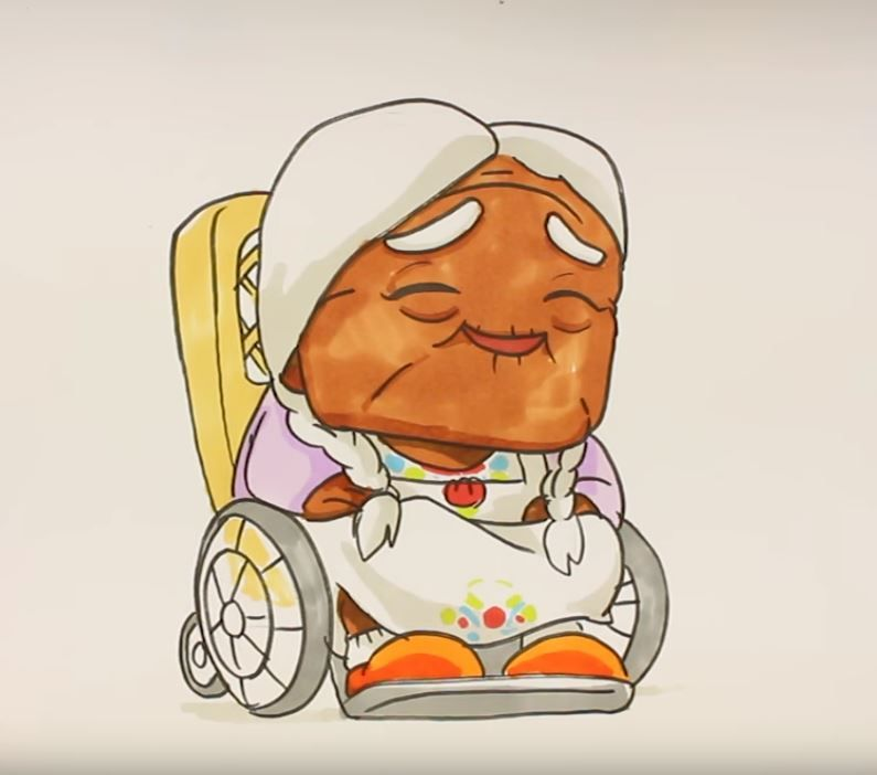 Como Dibujar A La Abuela Coco Al Estilo Kawaii Super Cute Dibujo Abuela Dibujos Kawaii Kawaii