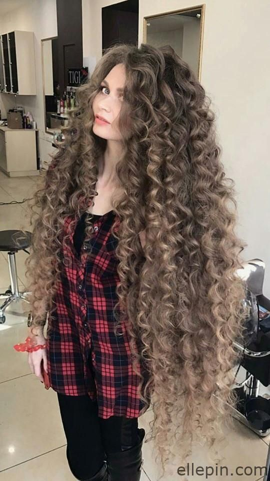 Women With Longest Curly Hair 2 Long Hair Styles Long Curly Hair Beautiful Long Hair