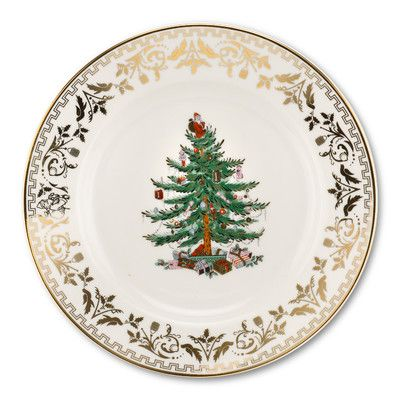 Spode Christmas Tree Gold Salad Plate in 2018 Products Pinterest