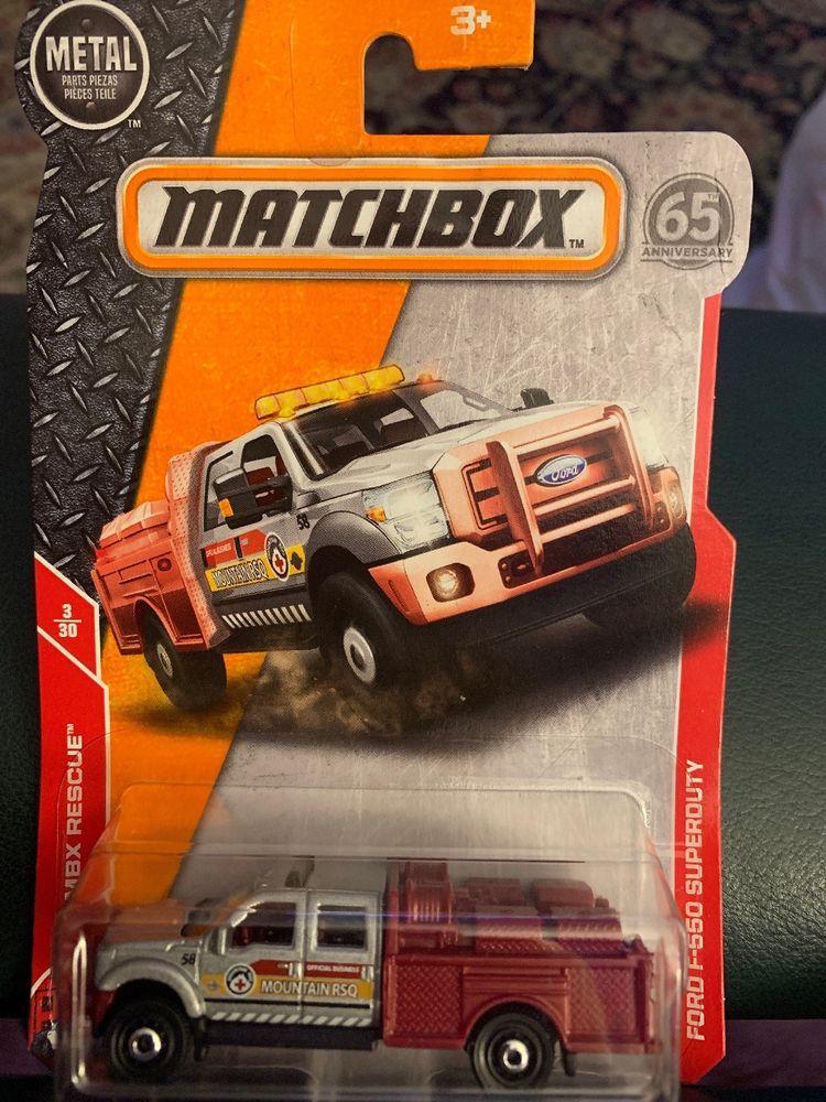 Matchbox 3 Ford F 550 Superduty Silver Pickup Truck Mbx Rescue Ebay Matchbox Matchbox Cars Pickup Trucks