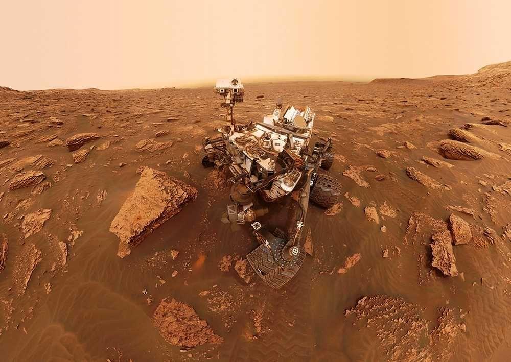 фото предметов находятся на планете марс середине компютерное моделирование