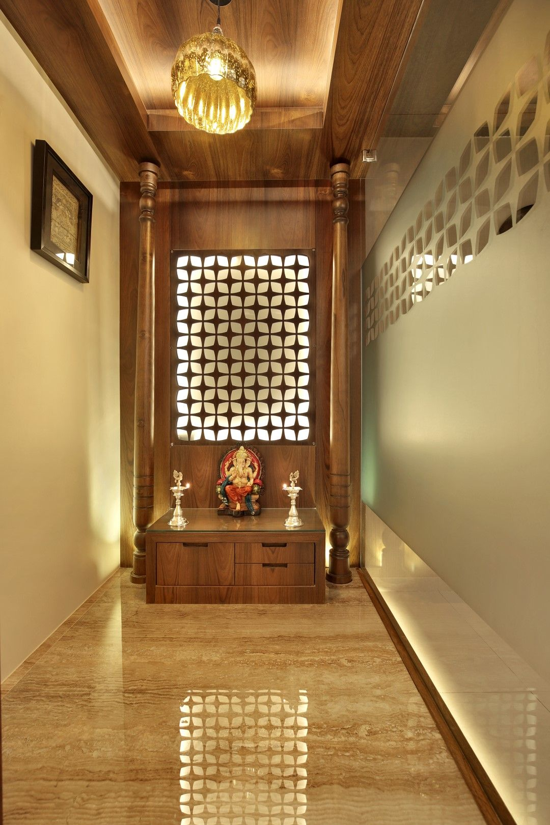 40 Door Design For Mandir Important Ideas: Fusion Design Of Apartment Is Aesthetically Appealing