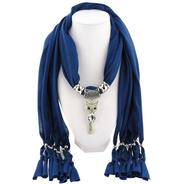 Womens billed fox scarf pendant jewelry scarf sweet style fringed womens billed fox scarf pendant jewelry scarf sweet style fringed 13 liked on aloadofball Images