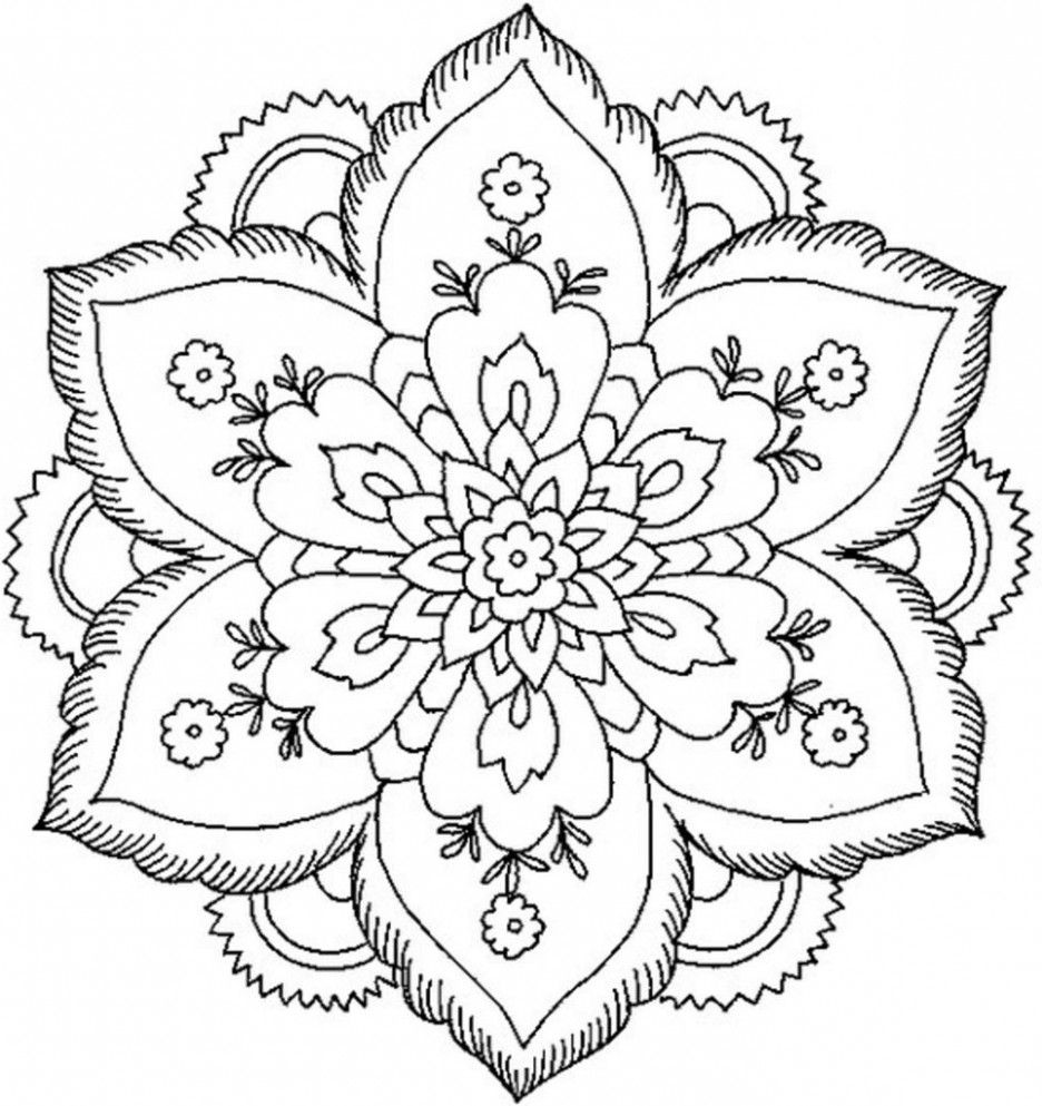 15 Small But Important Things To Observe In Coloring Pages For Young Adults Coloring Flower Coloring Pages Abstract Coloring Pages Mandala Coloring Pages