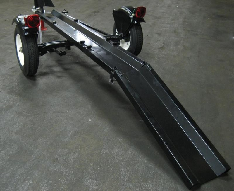Details About Folding Motorcycle Trailer Portable Collapsible