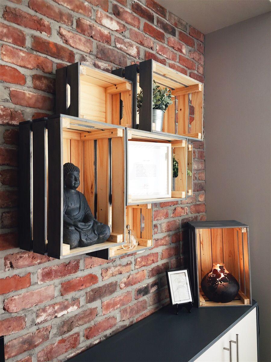 Knagglig Wall Shelving Ikea Boxes Ikea Box Shelves Wall Shelves