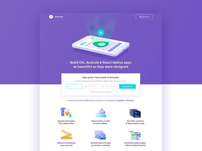 Avocode For Mobile Website Mobile Website Design Web Design User Interface