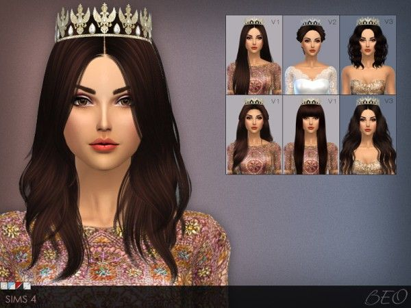 BEO CREATIONS-Diamond Tiara | TS3 Hats and Hair Accessories | Pinterest |  Diamond tiara, Sims and Diamond