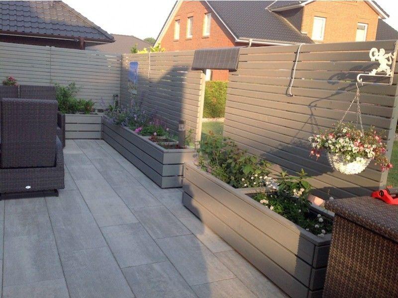 Sichtschutz Ohne Befestigung Zaun Zum Bepflanzen Pflanzkasten Pflanzkasten Terrassensichtschutz Pflanzkasten Holz