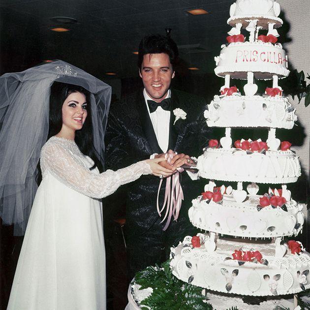 Elvis And Priscilla Presley Wedding Photos Priscilla Presley