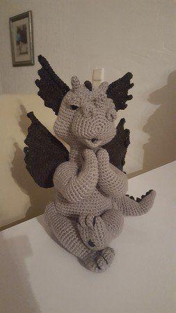 Häkelanleitung Drache Xemerius #crochetdinosaurpatterns