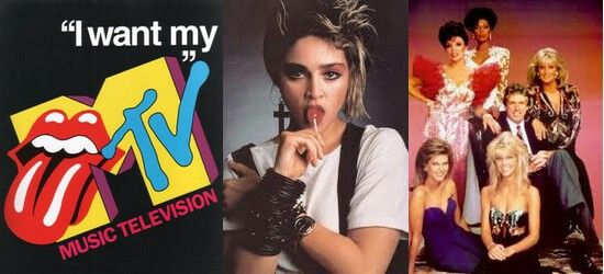 80's Style #MTV #Madonna-Please bring this back also!