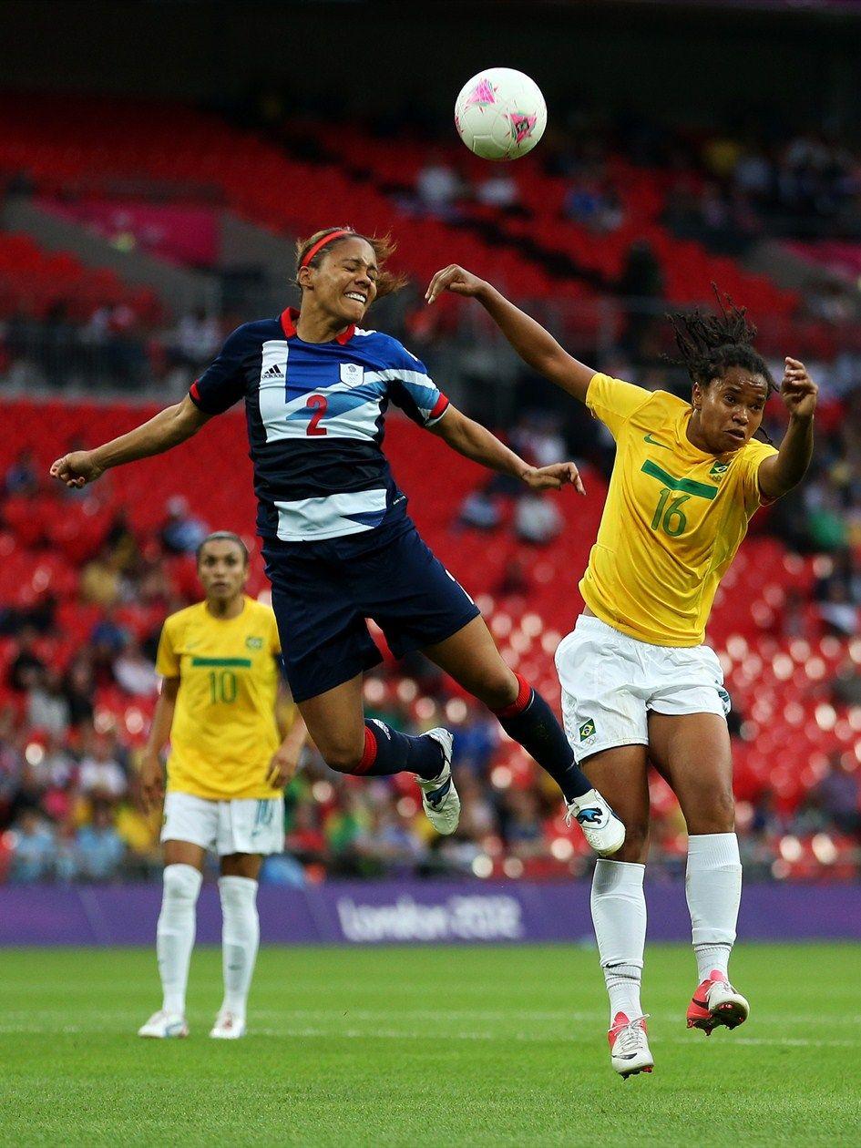Alex Scott / GB Olympics, Womens soccer, Soccer players