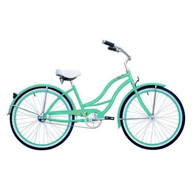 Micargi Tahiti F Mgrn 26 Women039s Beach Cruiser Bicycle Bike Mint Green3 Color