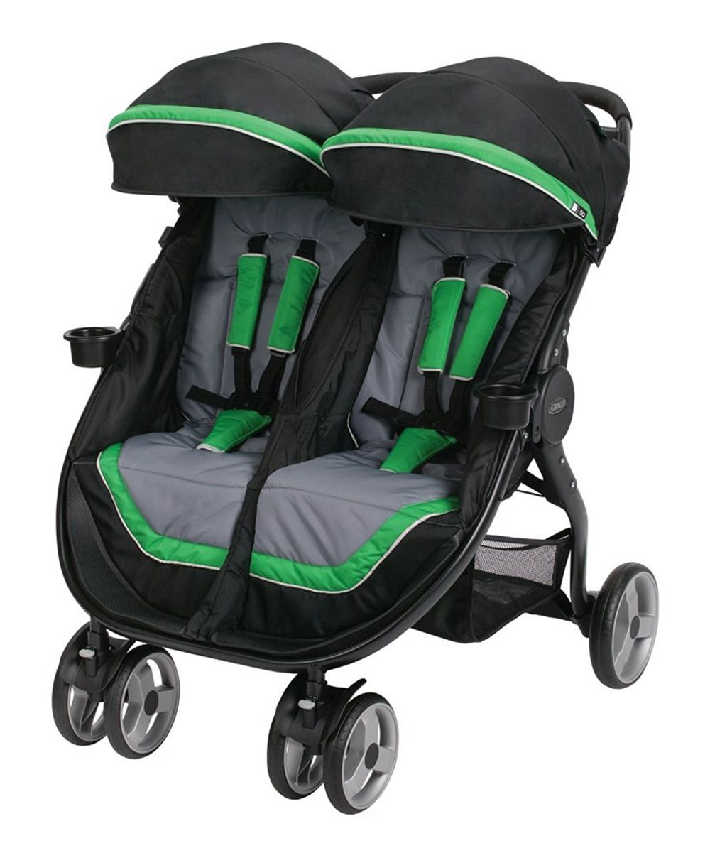 Green FastAction™ Dual Jogging Stroller Products Best